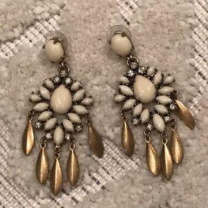 Stella & Dot Mallorca chandelier earrings